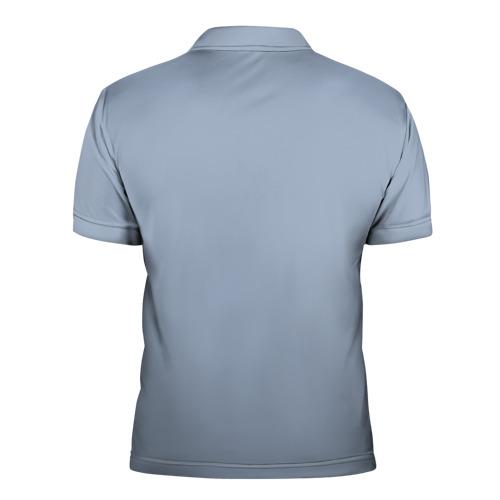 Мужская рубашка поло 3D Гагарин 8 Фото 01