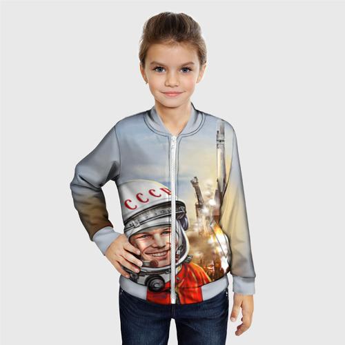 Детский бомбер 3D Гагарин 8 Фото 01
