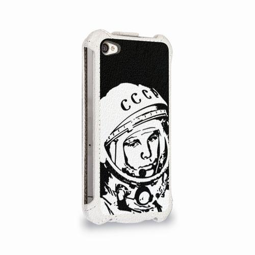 Чехол для Apple iPhone 4/4S flip  Фото 02, Гагарин 9