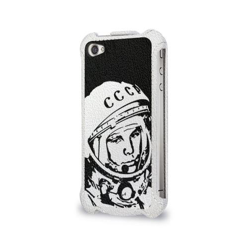 Чехол для Apple iPhone 4/4S flip  Фото 03, Гагарин 9