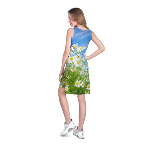 Платье-майка 3D Ромашки Фото 01