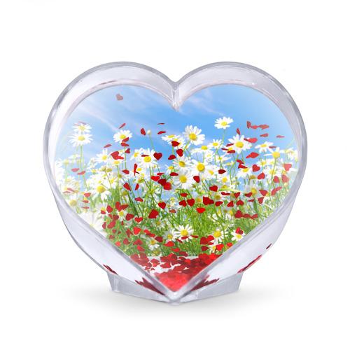 Сувенир Сердце  Фото 02, Ромашки