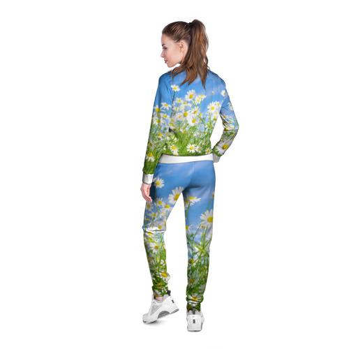 Женская олимпийка 3D  Фото 04, Ромашки