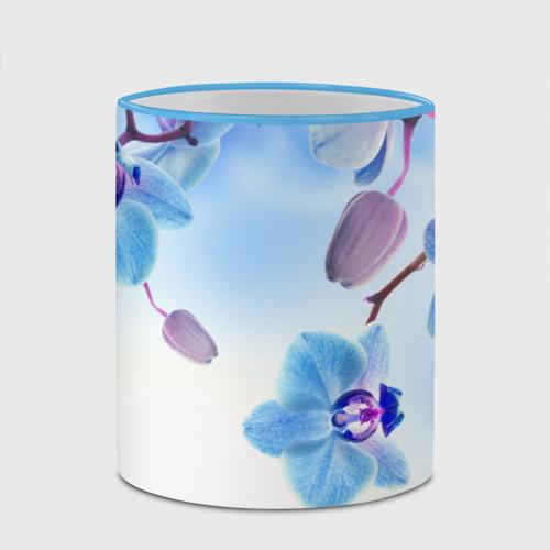 Кружка с полной запечаткой Голубая орхидея Фото 01