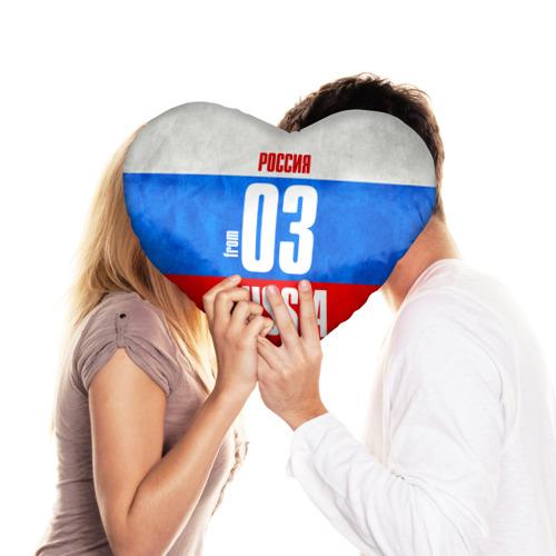 Подушка 3D сердце  Фото 03, Russia (from 03)