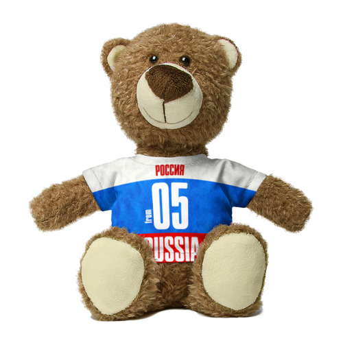 Миша в футболке 3D Russia (from 05) Фото 01