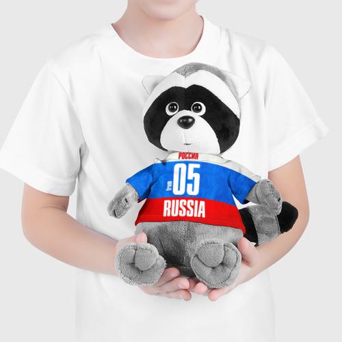 Енотик в футболке 3D Russia (from 05) Фото 01