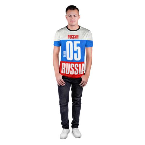 Мужская футболка 3D спортивная Russia (from 05) Фото 01