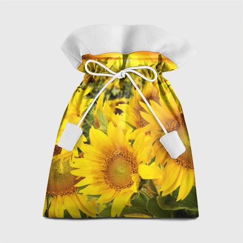 Подарочный 3D мешок Подсолнухи от Всемайки