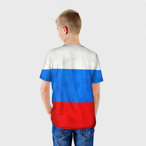 Детская футболка 3D  Фото 02, Russia (from 14)