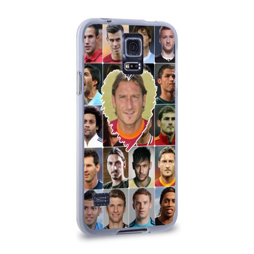 Чехол для Samsung Galaxy S5 силиконовый  Фото 02, Франческо Тотти - лучший