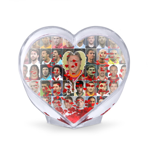 Сувенир Сердце  Фото 02, Франческо Тотти - лучший