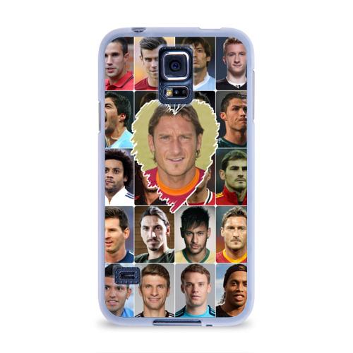 Чехол для Samsung Galaxy S5 силиконовый  Фото 01, Франческо Тотти - лучший