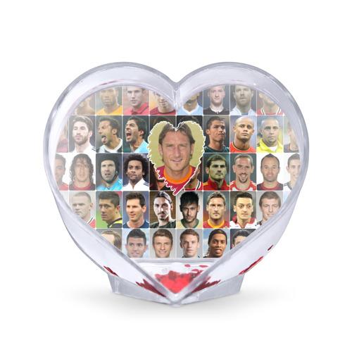 Сувенир Сердце  Фото 01, Франческо Тотти - лучший