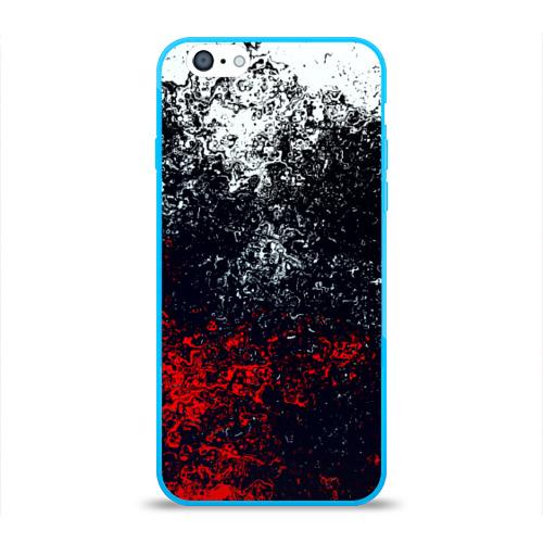 Чехол для iPhone 6/6S глянцевый Брызги красок Фото 01