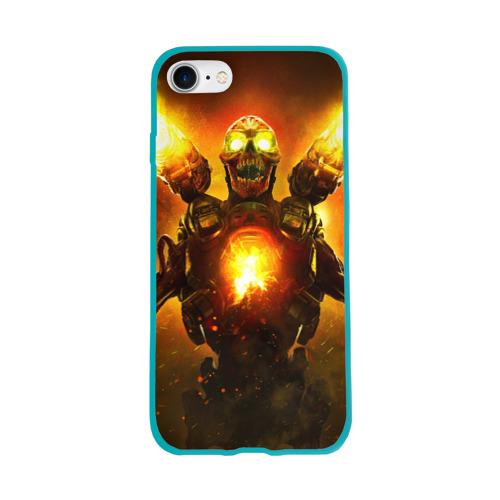 Чехол для Apple iPhone 8 силиконовый глянцевый