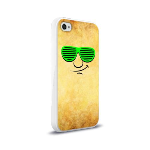 Чехол для Apple iPhone 4/4S силиконовый глянцевый  Фото 02, Знатный клаббер