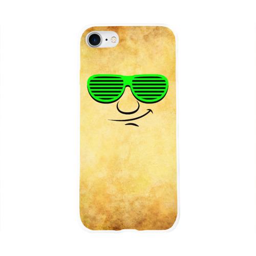 Чехол для Apple iPhone 8 силиконовый глянцевый  Фото 01, Знатный клаббер