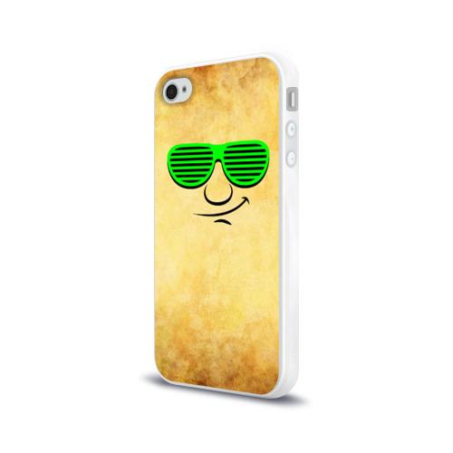 Чехол для Apple iPhone 4/4S силиконовый глянцевый  Фото 03, Знатный клаббер