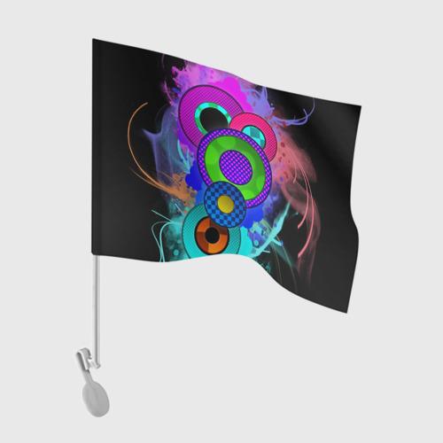Флаг для автомобиля Абстракция Фото 01