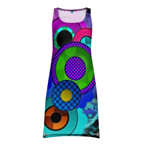 Платье-майка 3D Абстракция