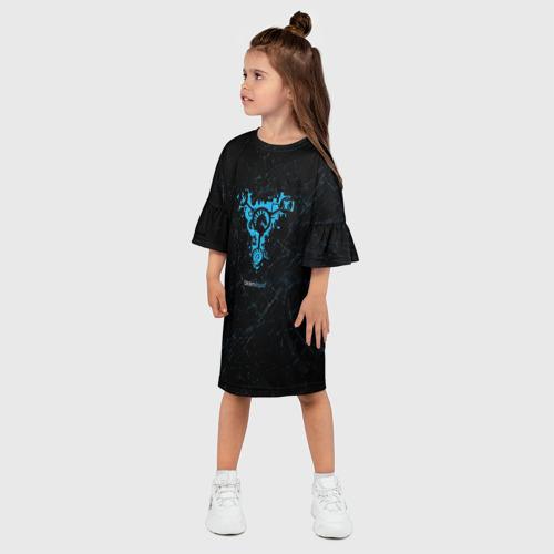 Детское платье 3D  Фото 03, Team Liquid