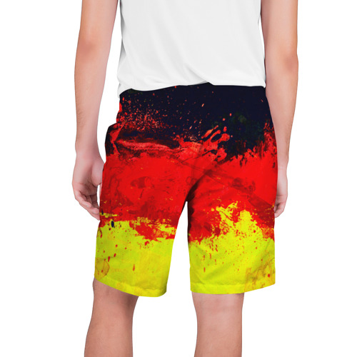 Мужские шорты 3D  Фото 02, Краски триколор