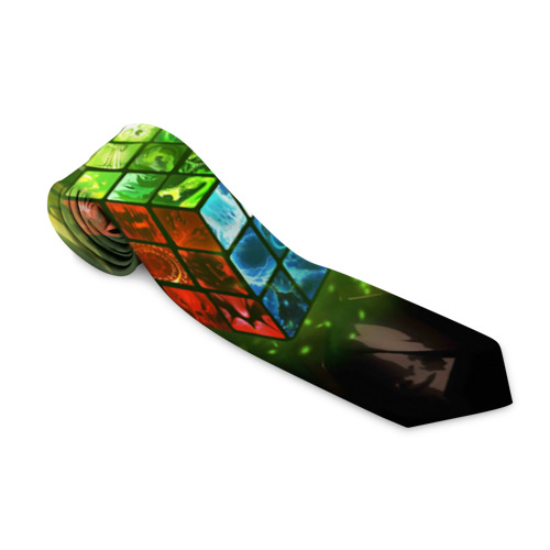 Галстук 3D Рубик