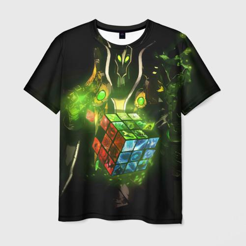 Мужская футболка 3D Рубик