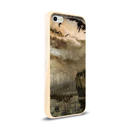 Чехол для Apple iPhone 5/5S силиконовый глянцевый  Фото 02, S.T.A.L.K.E.R.