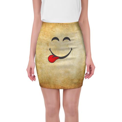 Мини-юбка 3D Мы на позитиве (L) от Всемайки