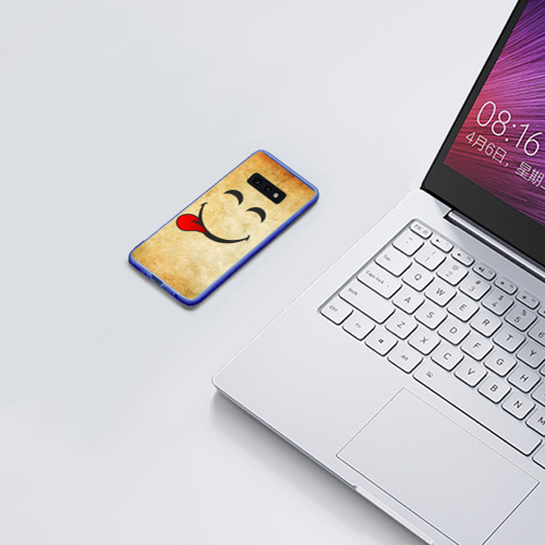 Чехол для Samsung S10E Мы на позитиве (L) Фото 01