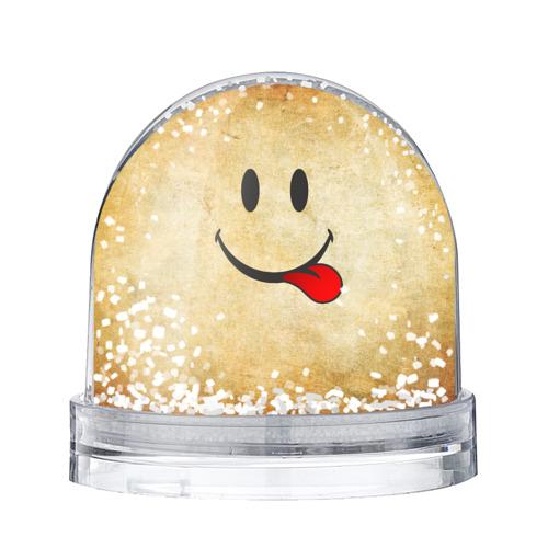 Водяной шар со снегом Мы на позитиве (R)