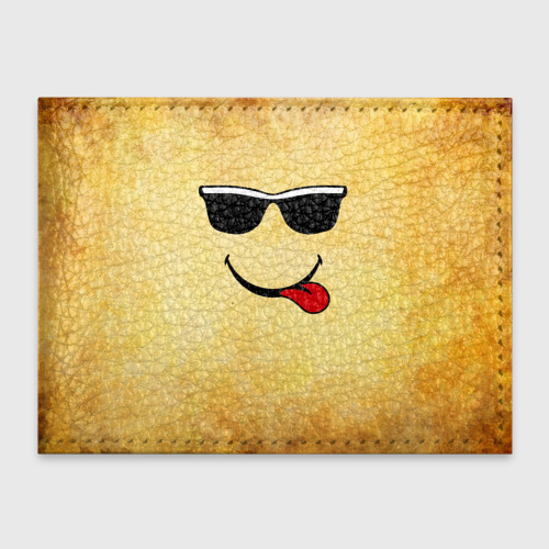 Обложка для студенческого билета  Фото 01, Смайл в очках (L)