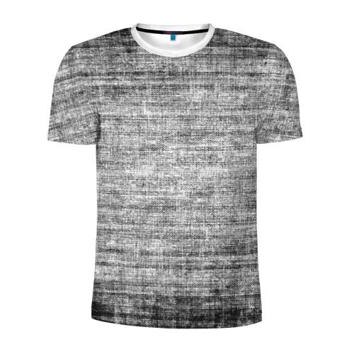 Мужская футболка 3D спортивная  Фото 01, Плетёнка