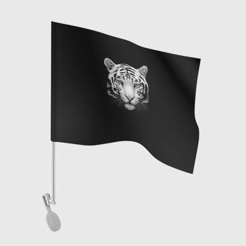 Флаг для автомобиля Тигр One фото