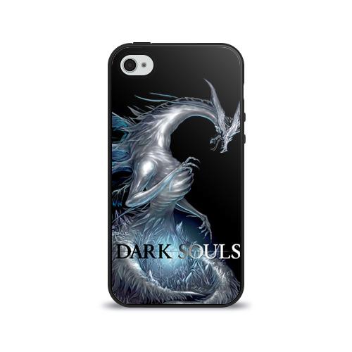 Чехол для Apple iPhone 4/4S силиконовый глянцевый Dark Souls 2 от Всемайки