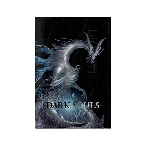 Обложка для паспорта глянцевая кожа Dark Souls 2 от Всемайки