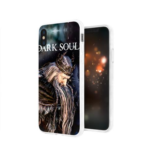 Чехол для Apple iPhone X силиконовый глянцевый  Фото 03, Dark Souls 4