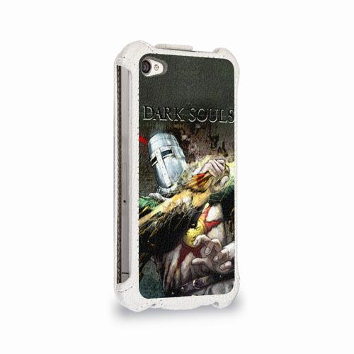 Чехол для Apple iPhone 4/4S flip  Фото 02, Dark Souls 5