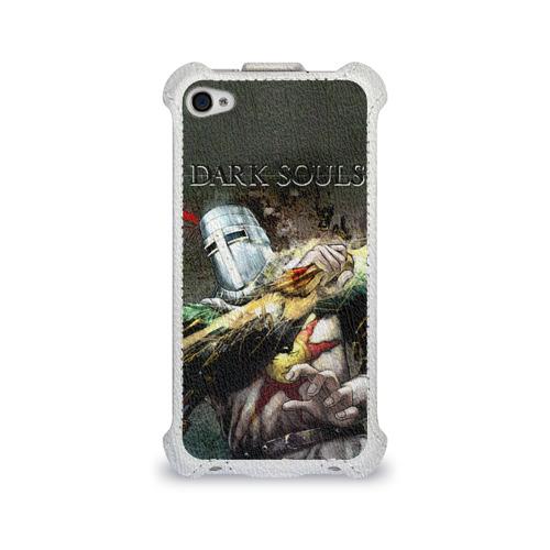 Чехол для Apple iPhone 4/4S flip  Фото 01, Dark Souls 5