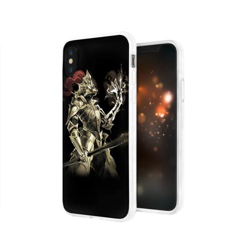 Чехол для Apple iPhone X силиконовый глянцевый  Фото 03, Dark Souls 12