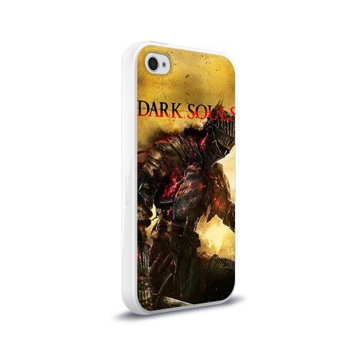 Чехол для Apple iPhone 4/4S силиконовый глянцевый Dark Souls 14 Фото 01