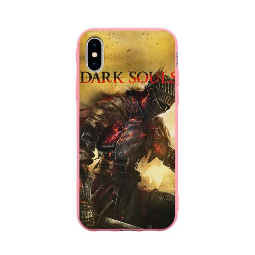 Чехол для Apple iPhone X силиконовый матовый Dark Souls 14 Фото 01
