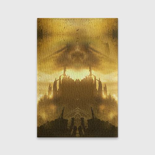 Обложка для паспорта матовая кожа  Фото 02, Dark Souls 14
