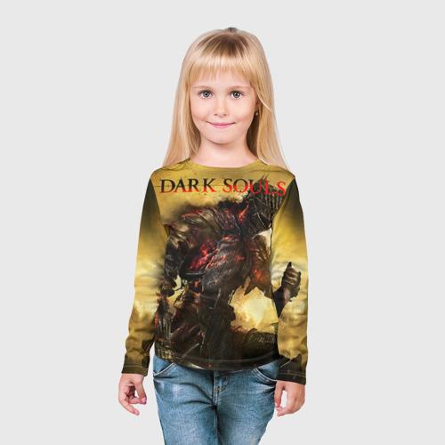 Детский лонгслив 3D Dark Souls 14 Фото 01