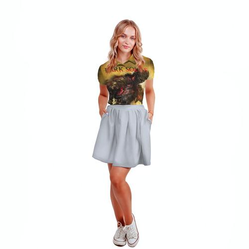 Женская рубашка поло 3D Dark Souls 14 Фото 01