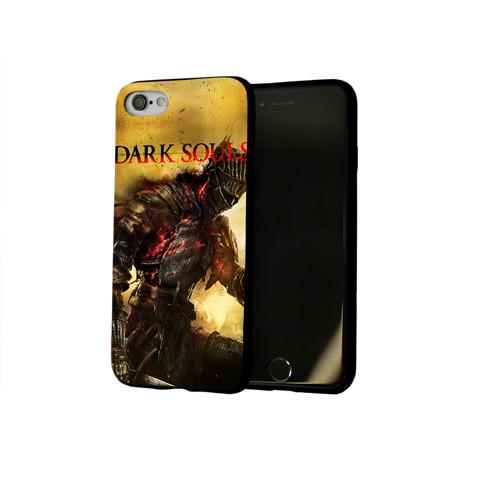Чехол для Apple iPhone 8 силиконовый глянцевый Dark Souls 14 Фото 01