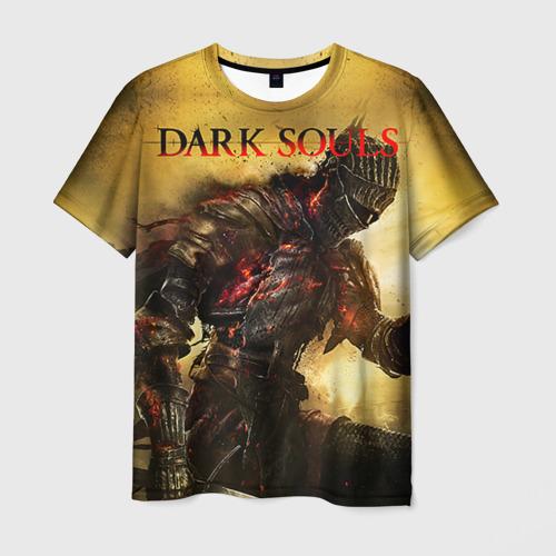 Мужская футболка 3D Dark Souls 14