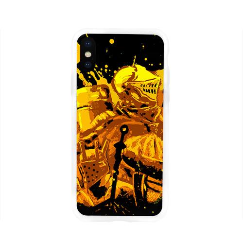 Чехол для Apple iPhone X силиконовый глянцевый  Фото 01, Dark Souls 15
